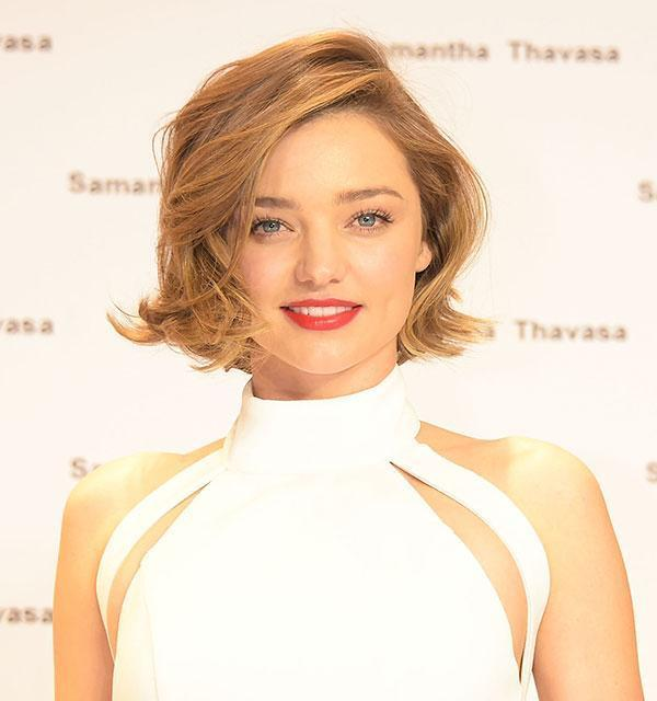 <br>The 32-year-old beauty stepped out in Japan revealing she has taken her lob to an all-out bob and she also appears to have lightened up the colour slightly too...