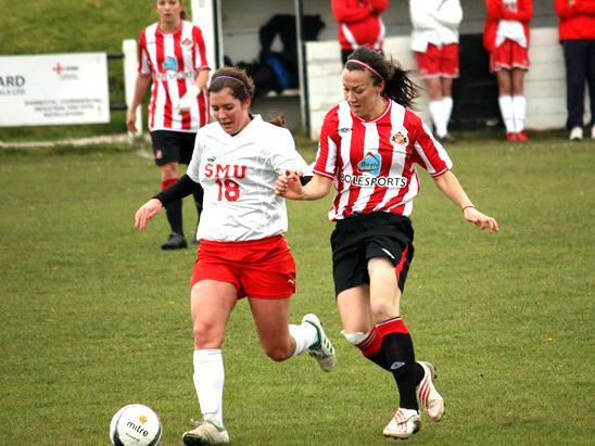 Mulhern unearthed a number of England's key players, including full-back Lucy Bronze (right) (Sunderland AFC)