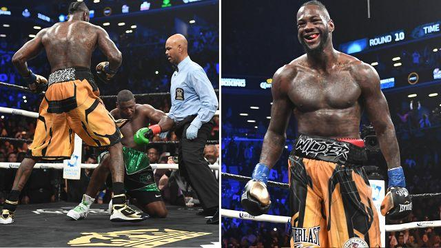 Wilder remains undefeated. Image: Getty