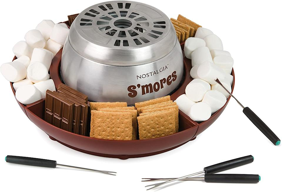 Nostalgia Stainless Steel S'mores Maker (Photo via Amazon)