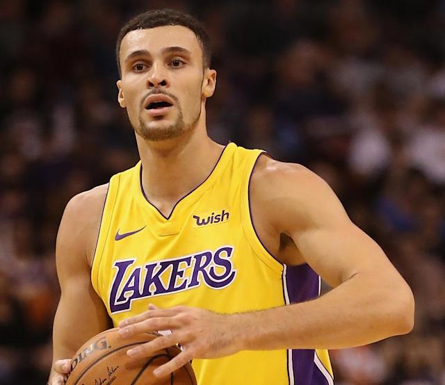 Larry Nance Jr. is going to be spending some time on the shelf. (Getty)
