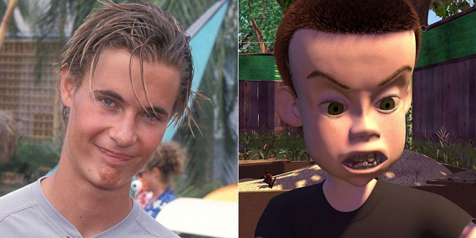 <p>The Disney Channel heartthrob from<em> Brink!</em> went to the dark side to play Andy's evil neighbor Sid in the original <em>Toy Story</em>. He reprised the part in <em>Toy</em> <em>Story 3</em> and also had a small role as a gorilla named Flynt in <em>Tarzan</em>.</p>