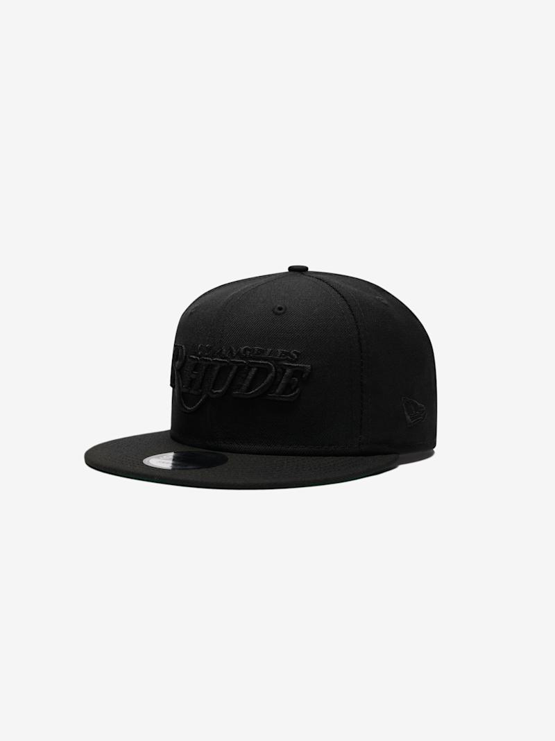 rhude-all-black-lakers-hat