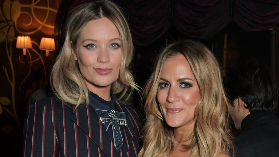 Laura Whitmore and Caroline Flack (David M. Benett/Getty Images for EE)