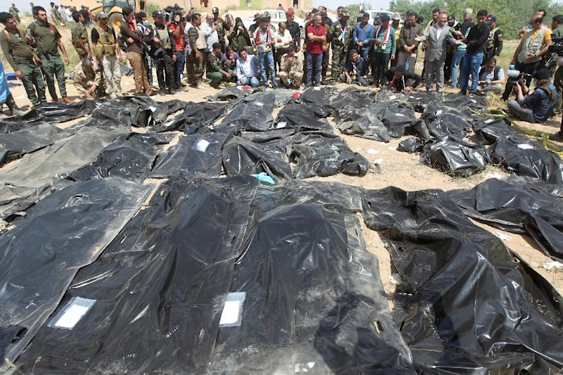 The Camp Speicher massacre was one of ISIS' worst atrocities