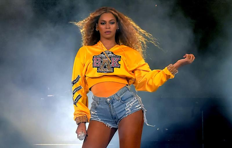 Beyoncé performs during the 2018 Coachella Valley Music And Arts Festival on April 14, 2018 in Indio, California.