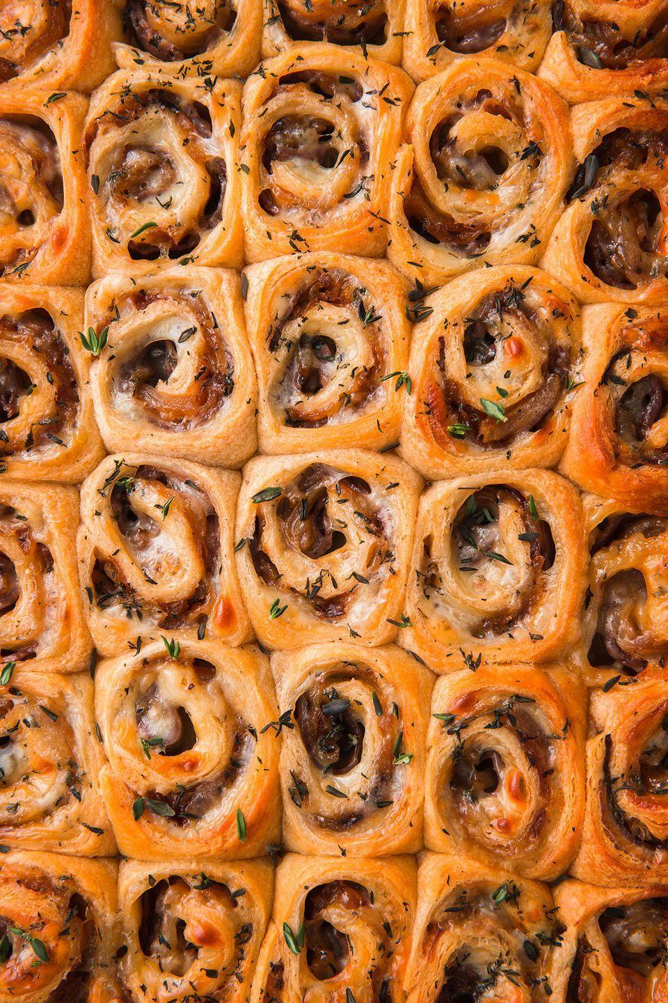 """<p>This is how we roll.</p><p>Get the recipe from <a href=""""https://www.delish.com/cooking/recipe-ideas/recipes/a52278/french-dip-roll-ups-recipe/"""" rel=""""nofollow noopener"""" target=""""_blank"""" data-ylk=""""slk:Delish"""" class=""""link rapid-noclick-resp"""">Delish</a>. </p>"""