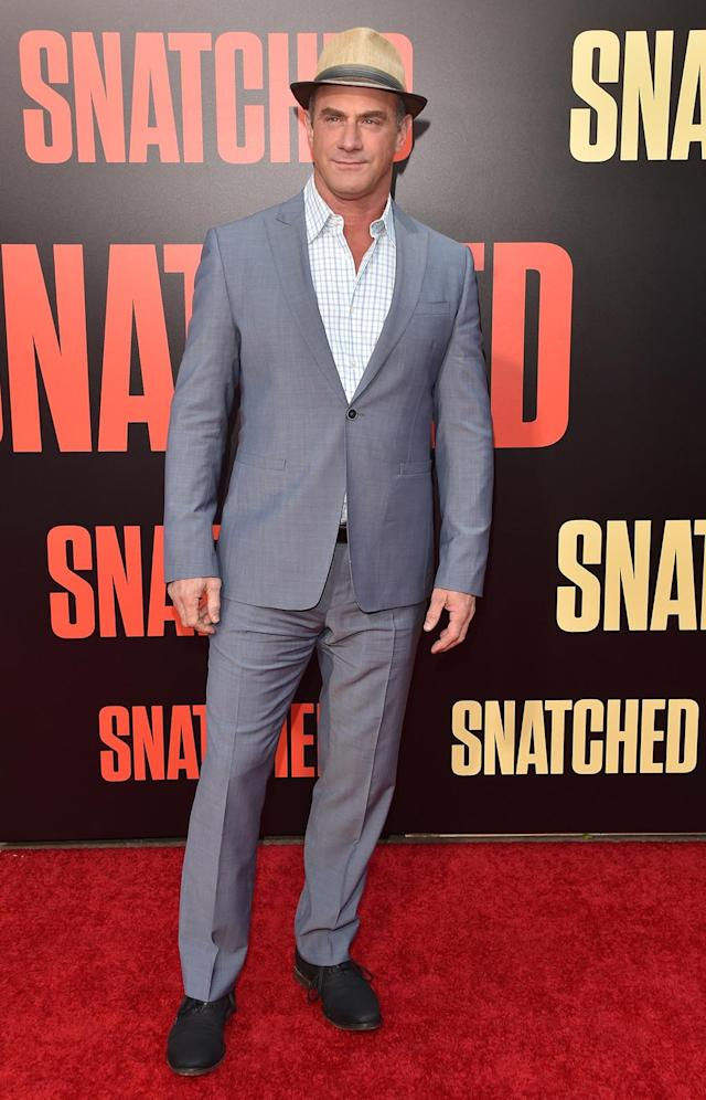 <p>The <em>Law & Order: SVU</em> star has a supporting role in <em>Snatched</em>. (Photo: Alberto E. Rodriguez/Getty Images) </p>
