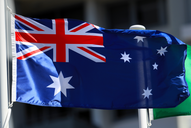 Australian flag. Source: Getty Images