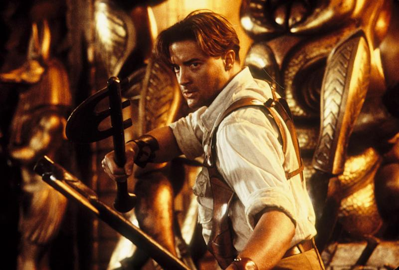 """The internet is really, REALLY upset that Brendan Fraser isn't in """"The Mummy"""" anymore — here's how they're fighting back"""