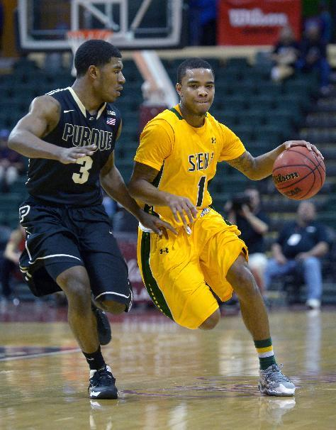 Purdue survives scare from Siena 68-63