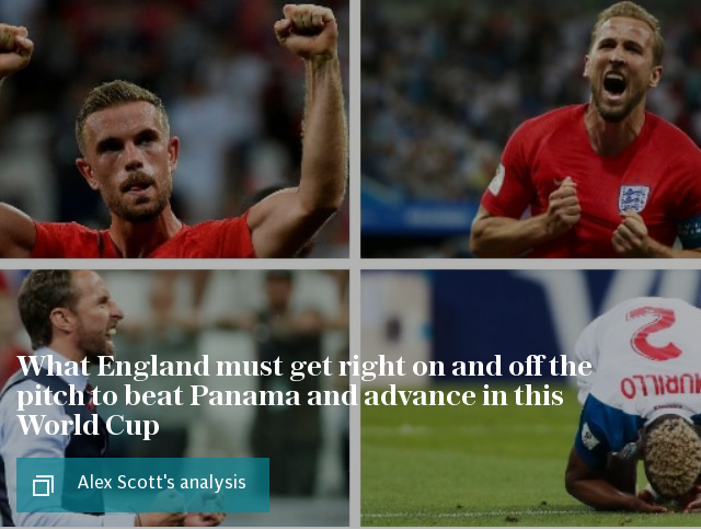 What England must get right on and off the pitch to beat Panama and advance in this World Cup