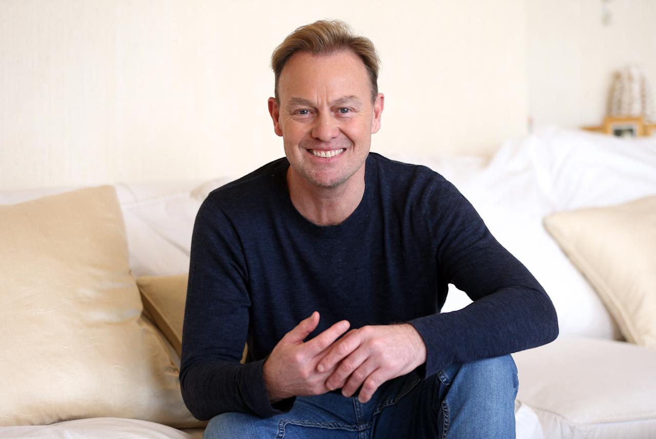 Jason Donovan, one of the cast members of The War of The Worlds, photographed at Jeff Wayne�s studio in Shenley, ahead of the 40th anniversary tour.