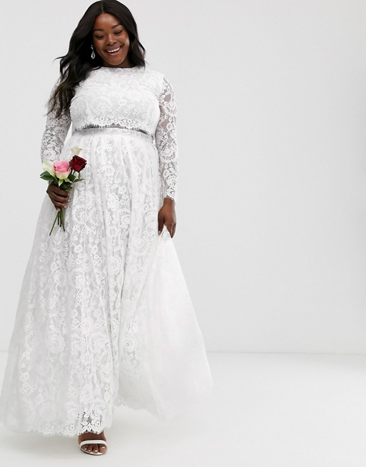 """<h2><a href=""""https://www.asos.com/us/women/occasion-wear/bridal/cat/?cid=21606"""" rel=""""nofollow noopener"""" target=""""_blank"""" data-ylk=""""slk:ASOS"""" class=""""link rapid-noclick-resp"""">ASOS</a></h2><br>One of the most popular e-tailers also offers a big bridal selection as part of its Edition (special occasion) collection. As is always the case with ASOS, the styles — ranging from separates to cocktail dresses and gowns — have an affordable starting point."""