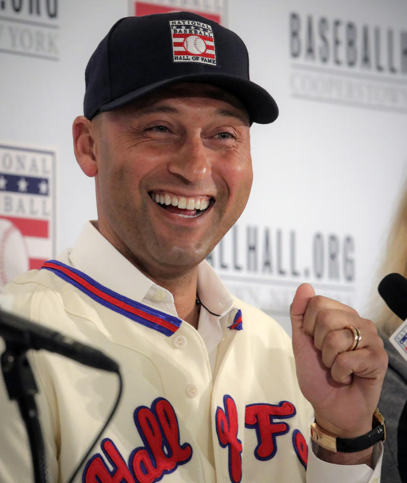 Hall of Fame voter who snubbed Jeter keeps ballot private