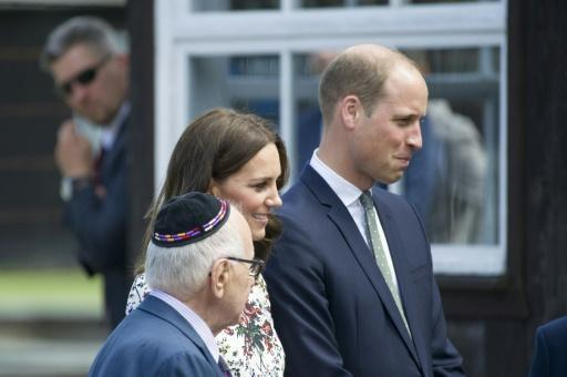 Prince William, Kate 'moved' by concentration camp visit