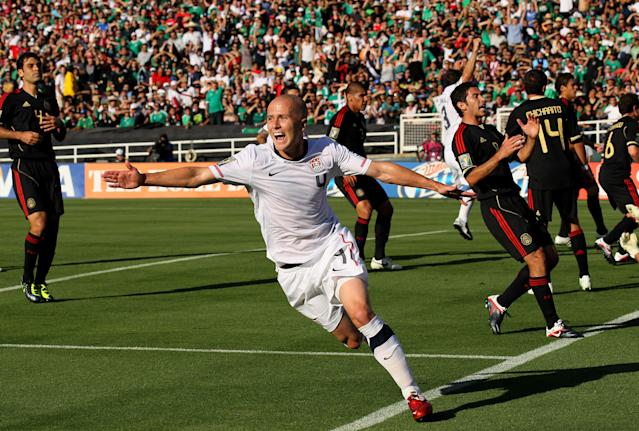The new Nations League will likely mean more competitive U.S.-Mexico matches. (Getty)