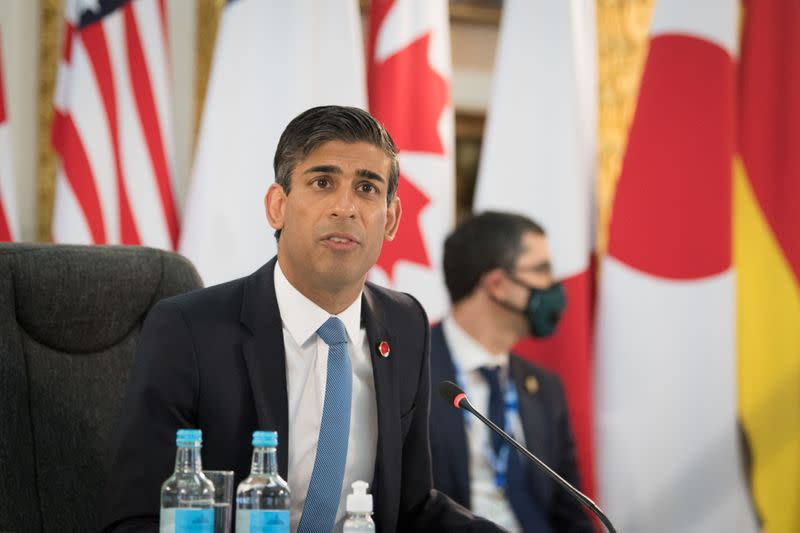 G7 Finance Ministers meeting in London