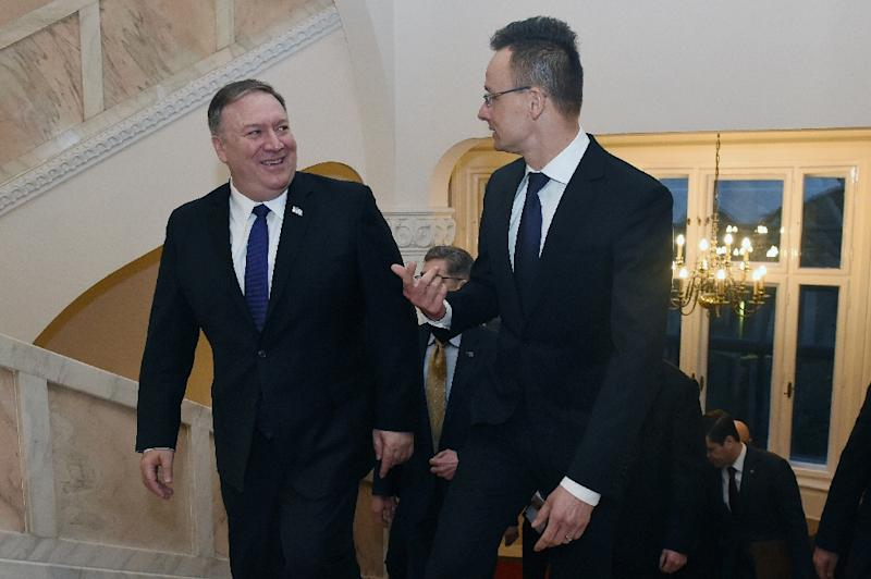 Image result for Pompeo says US must not let Russia 'drive wedge' between NATO allies