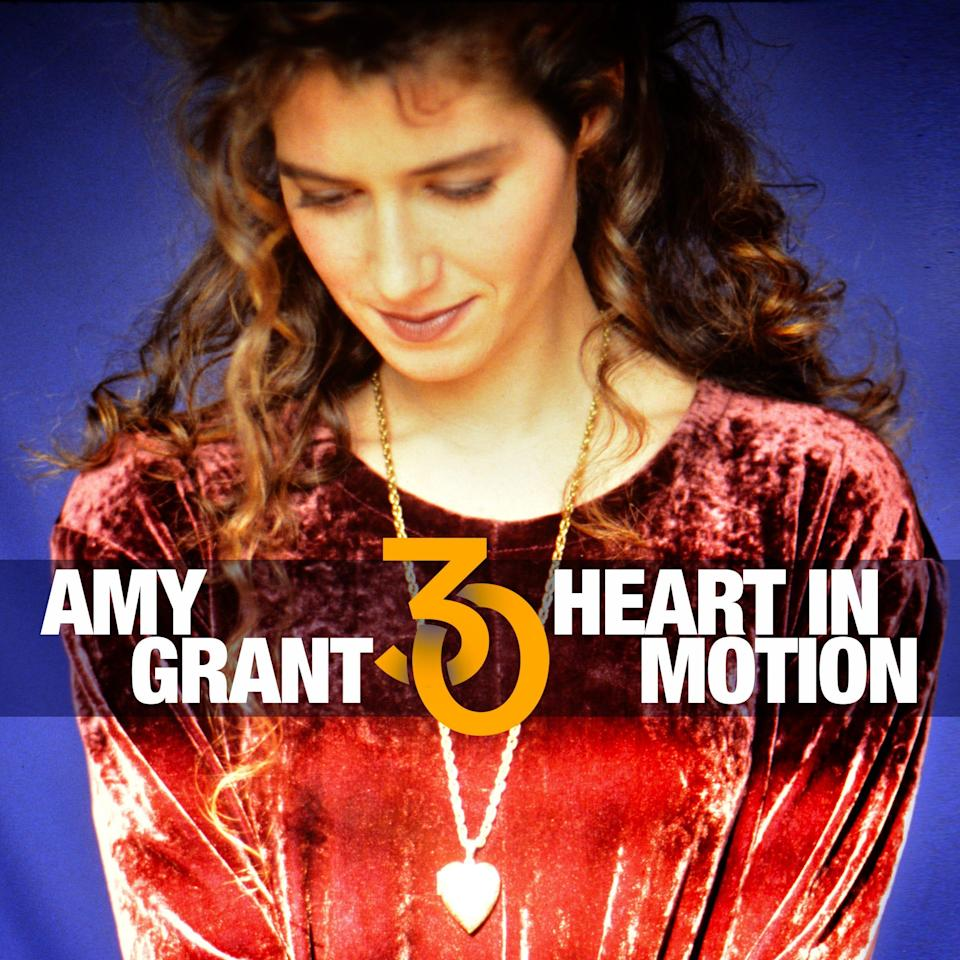 """Amy Grant's multi-platinum """"Heart in Motion"""" album is 30 years old."""