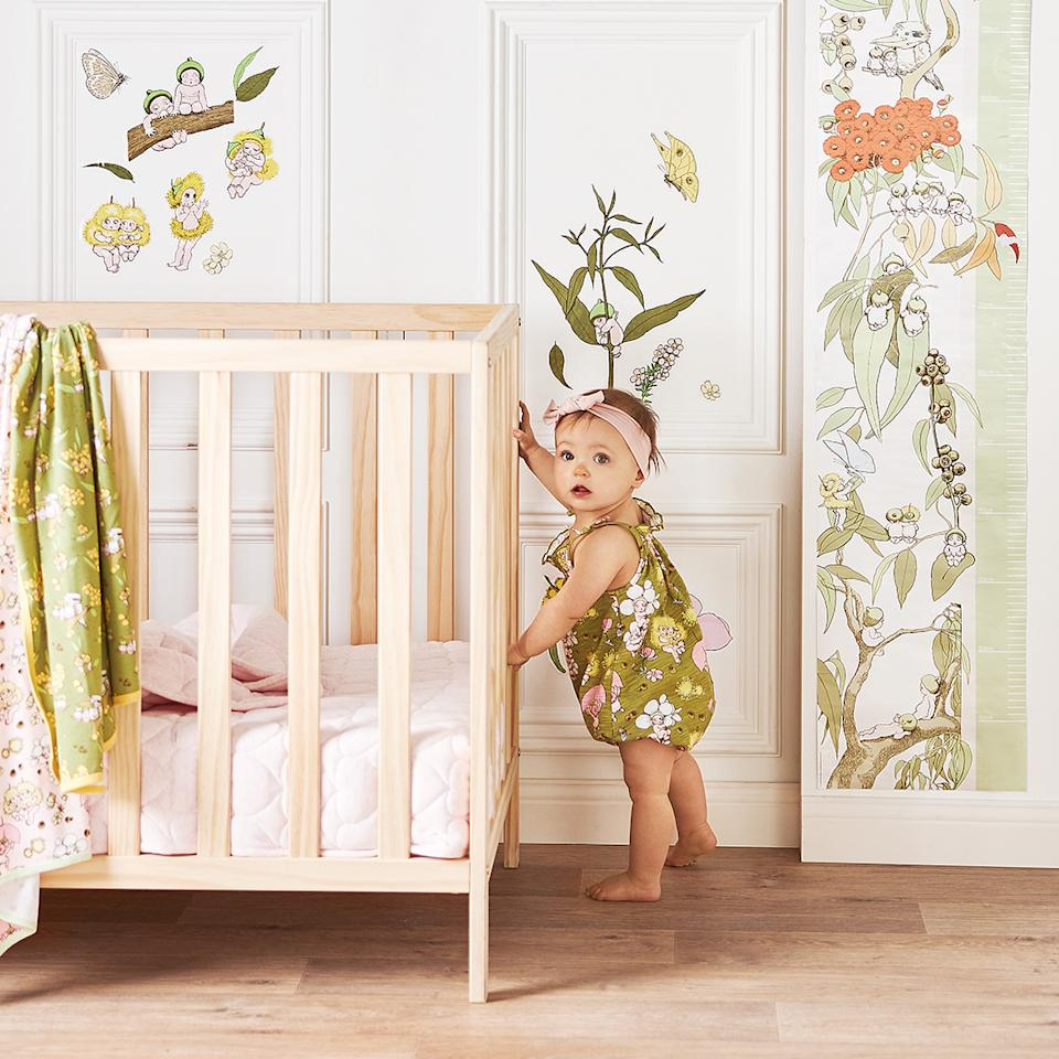 Look out for the new May Gibbs babywear and decor range. Photo: Big W (supplied).