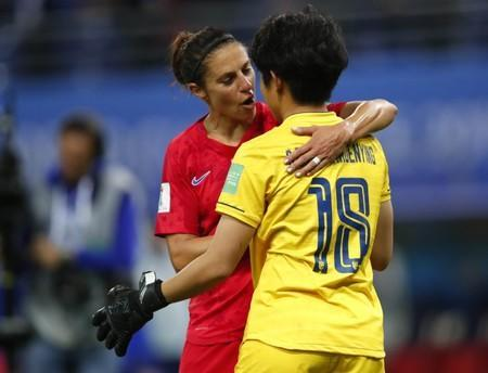 FILE PHOTO: Soccer: Womens World Cup-Thailand at USA