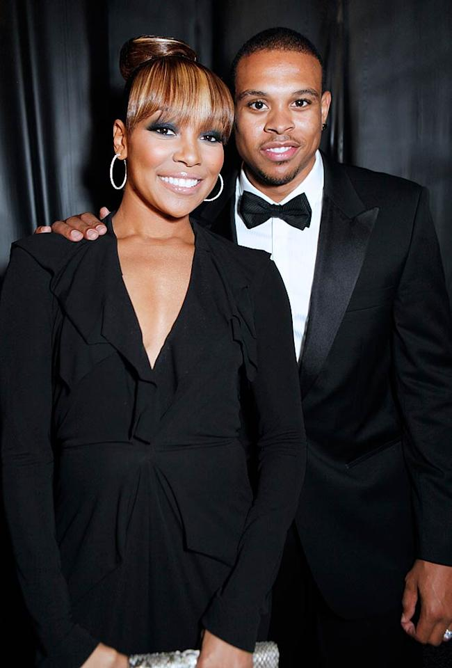 Singer Monica and NBA basketballer Shannon Brown proclaimed their love in a lavish wedding with 300 guests on July 9, but they actually swapped vows months earlier, in a small November 2010 ceremony that only included witnesses. Famous faces in attendance for the much larger fete included Khloe Kardashian, Cee Lo Green, and NeNe Leakes.