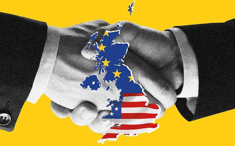 US-UK trade deal cannot happen without Brexit deal, says US expert - The Telegraph