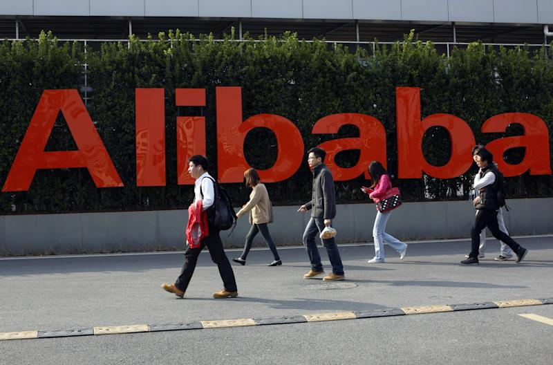 Chinese e-commerce giant Alibaba no longer has to grapple with a cryptocurrency project trying to cash in on its nearly $500 billion brand. | Source: Chinatopix via AP
