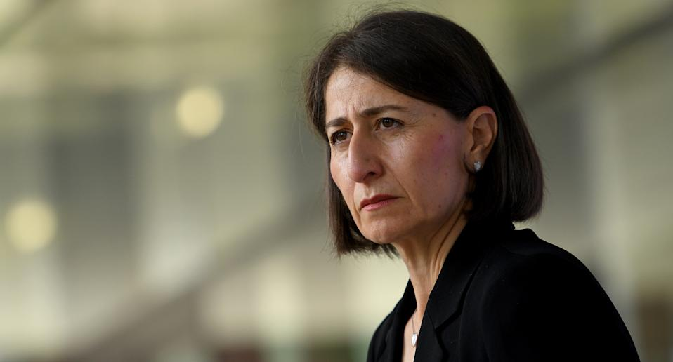 NSW Premier Gladys Berejiklian is pictured.