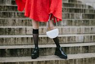 <p>Flatforms, a clever portmanteau of flat and platform, can recall traditional Japanese slippers or 90s pop, depending on the style. Stick to neutral colors to pull off this daring silhouette in everyday outfits. </p>