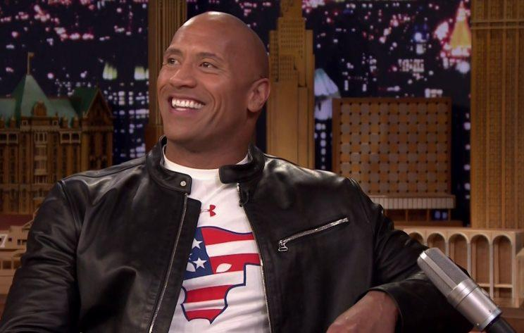 Will Dwayne Johnson really run for office in 2020? (Credit: NBC/WENN.com)