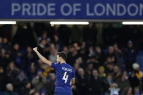 Cesc Fabregas gave goodbye speech in Chelsea dressing room after FA Cup win
