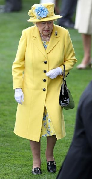The queen has not missed the race, held since 1711 at the famous Berkshire course, since 1953, the year of her coronation
