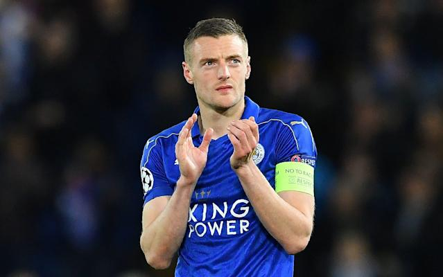 <span>Leicester City's Champions League dream ended in defeat on Tuesday night</span> <span>Credit: AFP  </span>