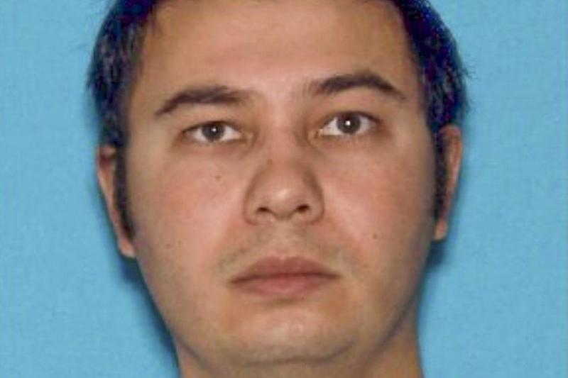 Authorities have identified Matthew Riehl as the gunman who shot five officers, killing one: EPA