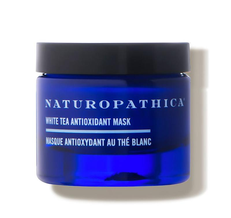 """We love the <a href=""https://fave.co/2ZLzFw9"" target=""_blank"" rel=""noopener noreferrer"">Naturopathica White Tea Antioxidant Mask</a>. If you&rsquo;re feeling a little dry, you can also use this every now and then as a night cream."" <strong>&mdash; Serron at HeyDay</strong>. Find it for $54 at <a href=""https://fave.co/2ZLzFw9"" target=""_blank"" rel=""noopener noreferrer"">Dermstore</a>."