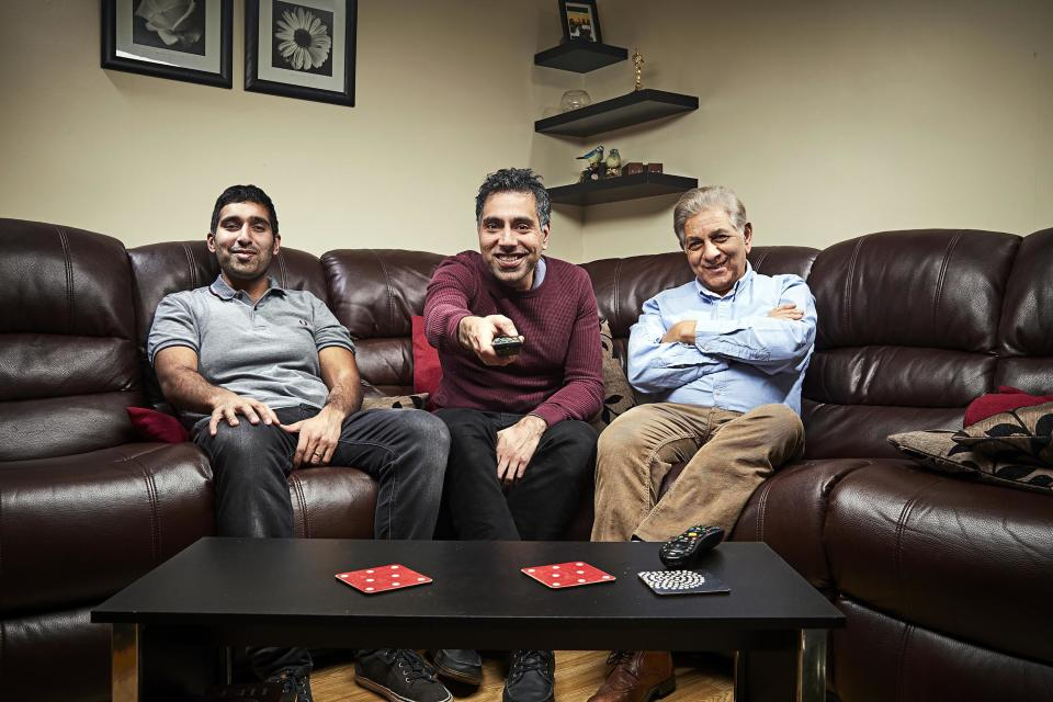 The Siddiqui family. (Channel 4)