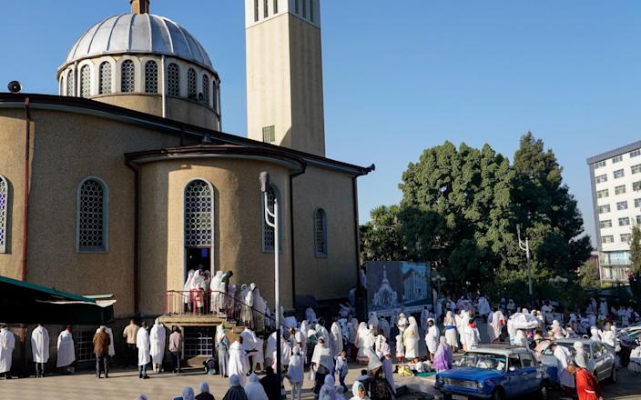 St Yohannes Orthodox Church in Piassa, in Addis Ababa - GETTY IMAGES