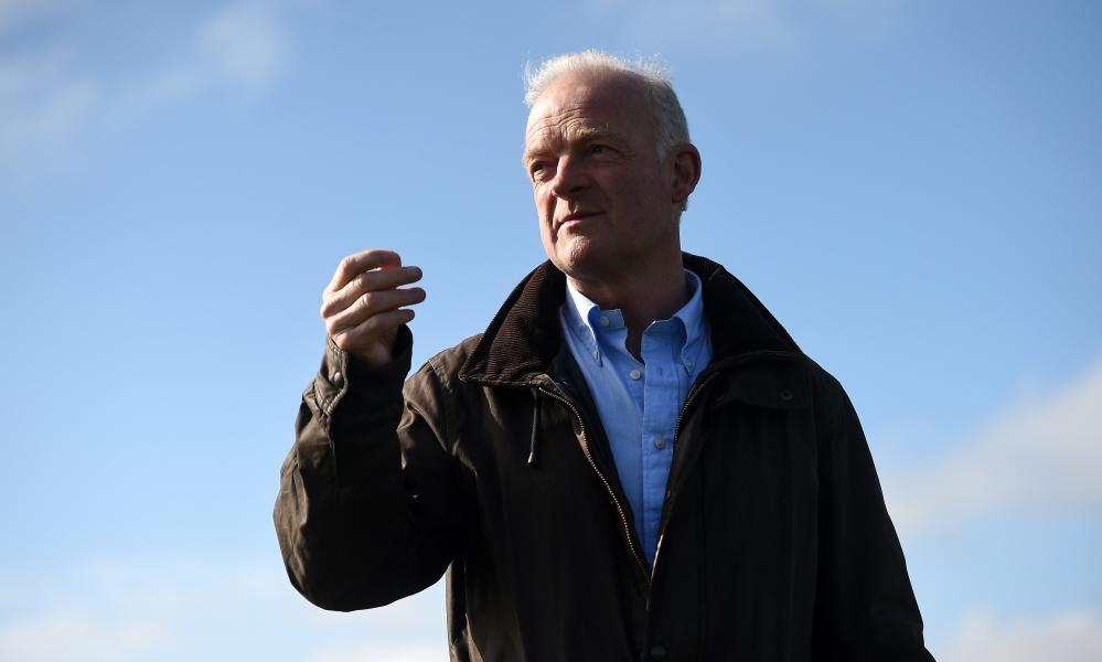 Willie Mullins might be about to get a very timely first success in the Irish Grand National.