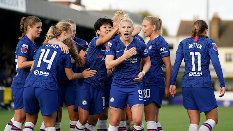 Champions Chelsea to launch WSL defence against Manchester United