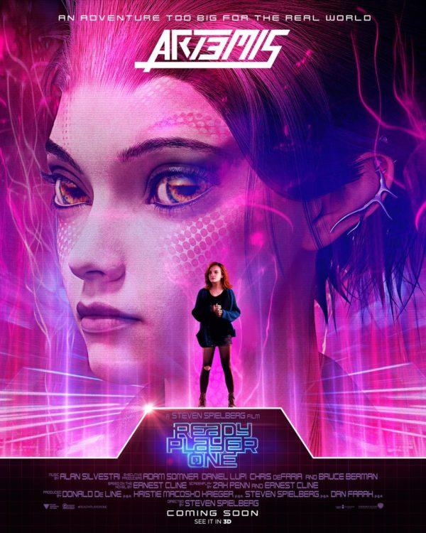 <p>Samantha Evelyn Cook (Olivia Cooke)'s avatar is named Art3mis (we guess Artemis was already taken) and she's probably the coolest character in the game. </p>