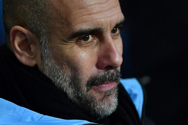 Quality over quantity: Pep Guardiola believes English football must cut down to one cup competition (AFP Photo/Paul ELLIS)