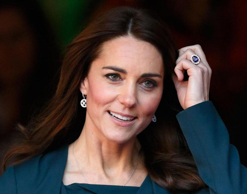 Kate Middleton's ring is worth the most. Photo: Getty