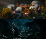 <p>The trolls in Peter Jackson's 'Lord of the Rings' prequel turn to stone in exactly same position as the Fellowship encountered them in 2001's 'Fellowship of the Ring', 11 years earlier. That's what you call attention to detail. </p>