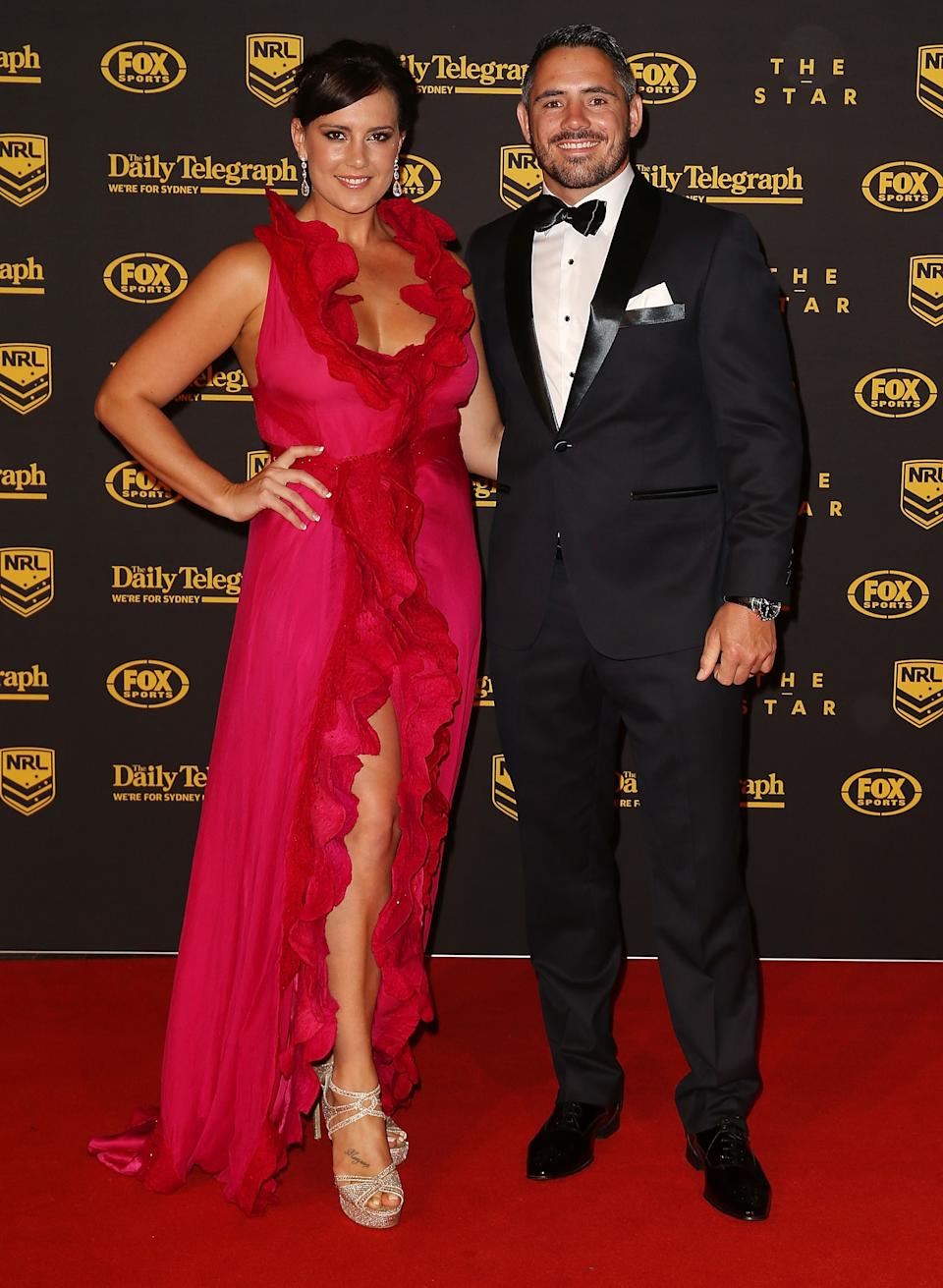 Corey Parker and Margaux Parker at 2013 Dally M Awards