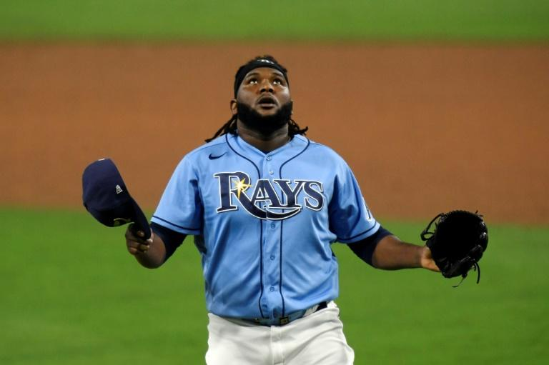 Rays edge Astros to win opener in MLB playoff series