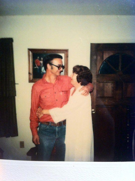"""""""I've never seen a photo of my grandparents where they weren't embracing -- whether it was when they were dating, had five kids under age 8, or just before my grandfather died of cancer. I couldn't wait to grow up and have what they had with someone. They were a real life fairy tale."""" -<em> Cari Watts-Savage</em>"""