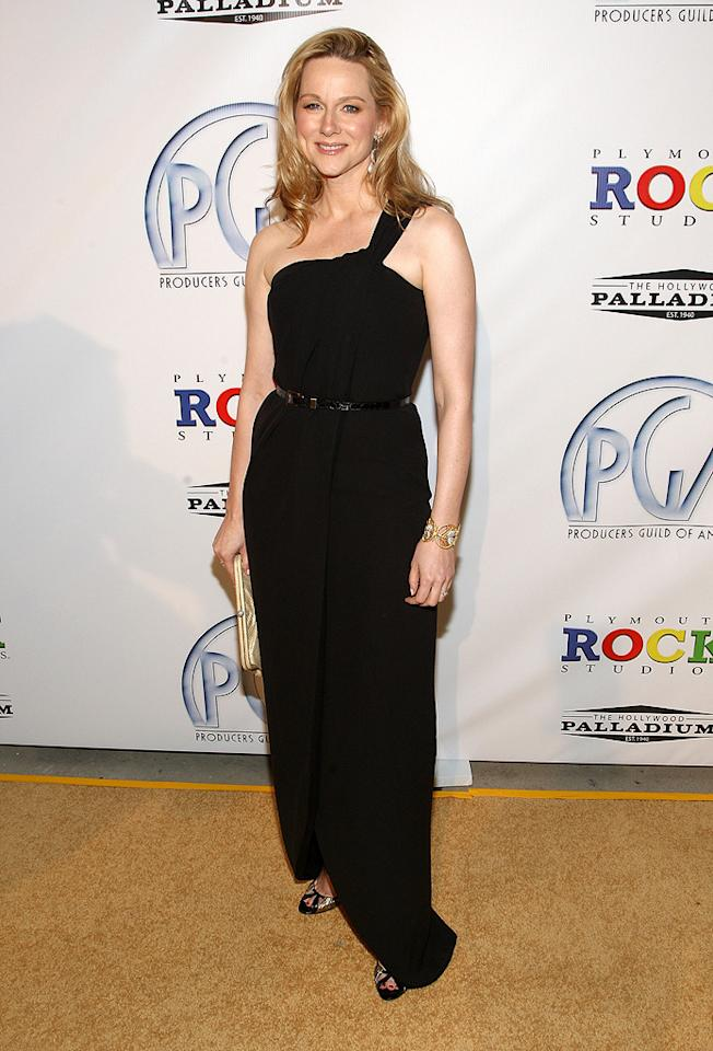 "<a href=""http://movies.yahoo.com/movie/contributor/1800026206"">Laura Linney</a> at the 20th Annual Producers Guild Awards in Hollywood - 01/24/2009"