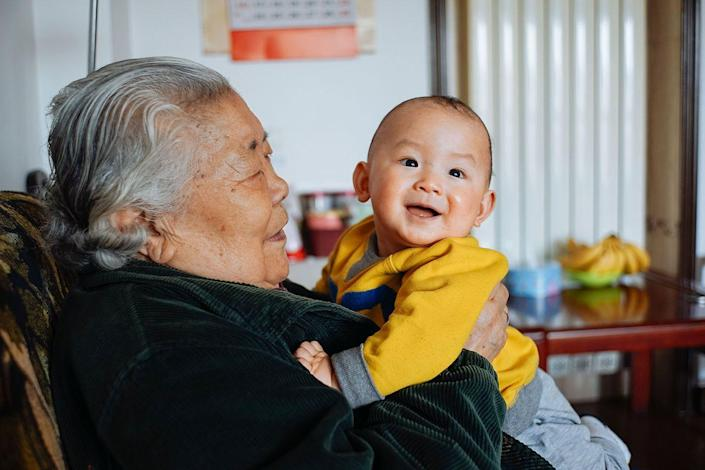 "<p>If you spend time playing with and caring for a grandchild, you're 37% more likely to survive than those who do not care for their grandchildren, according to analysis of the <a class=""link rapid-noclick-resp"" href=""http://www.sciencedirect.com/science/article/pii/S1090513816300721"" rel=""nofollow noopener"" target=""_blank"" data-ylk=""slk:Berlin Aging Study"">Berlin Aging Study</a>. Don't have grandchildren? Don't worry. Even study volunteers who cared for others outside of their family through charity work lived an average of 3 years longer than those who did not care for anyone. </p>"